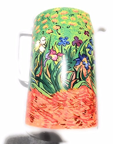 Chaleur Van Gogh Iris Ceramic Pitcher