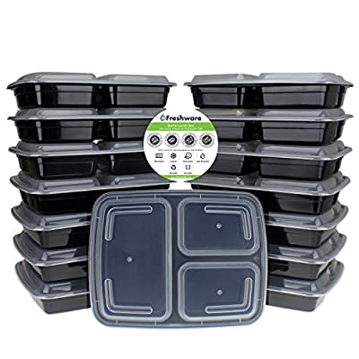 Freshware Meal Prep Containers