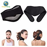 Canopus Self-Heating Magnetic Neck Massage Therapy Pad Band Whiplash Collar