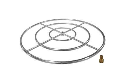 Amazon Com Firegear Stainless Steel Gas Fire Pit Burner Ring Kit
