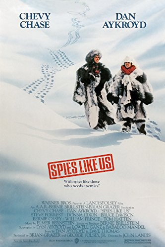 Spies Like Us  Movie Poster 24x36 inches Chevy Chase