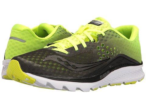 (サッカニー) SAUCONY メンズランニングシューズスニーカー靴 Kinvara 8 [並行輸入品] B06XXV25MF 27.0 cm D - M Black/Citron