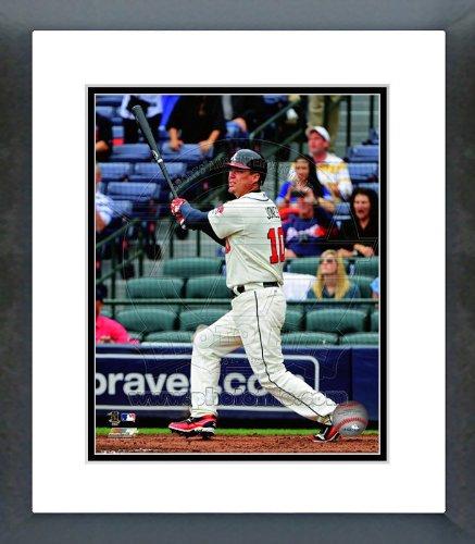 Framed Chipper - Chipper Jones Atlanta Braves 2012 Batting Framed Picture 8x10