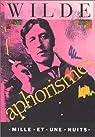 Aphorismes par Wilde