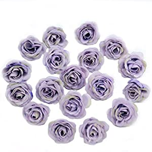 10pcs 3cm Mini Silk Artificial Rose Flowers Cloth for Wedding Party Home Room Decoration DIY Accessories Fake Flowers,Champange 5