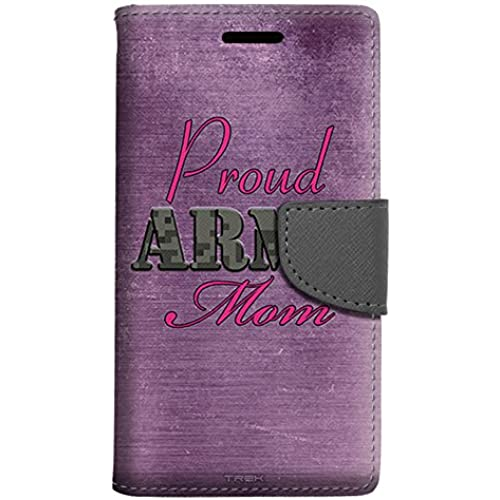 Samsung Galaxy S7 Edge Wallet Case - Proud Army Mom Purple Case Sales