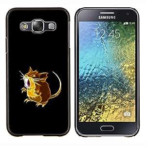"""Be-Star Único Patrón Plástico Duro Fundas Cover Cubre Hard Case Cover Para Samsung Galaxy E5 / SM-E500 ( P0kemon Ratón"""" )"""