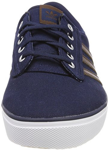 Adulte Adidas ftwwht Bleu conavy brown Baskets Mixte Kiel SSr7qt