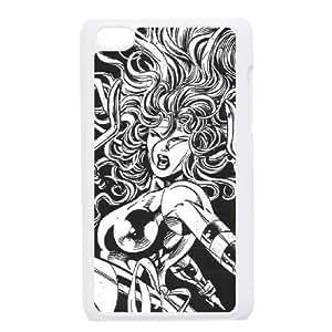iPod Touch 4 Case White Elektra Throws Sais Azymf