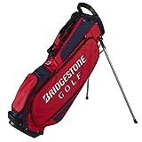 Bridgestone Light Weight Stand Golf Bag RED - New 2017