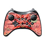 Merry Christmas Ho Ho Ho Design Print Image Wii U Pro Controller Vinyl Decal Sticker Skin by Trendy Accessories