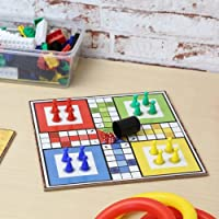 CHESS + LUDO WOODEN