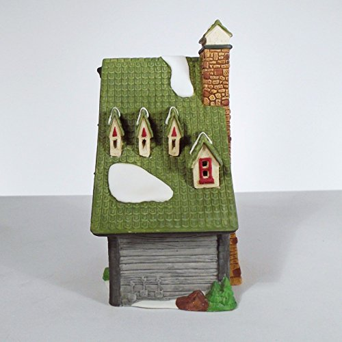Dept 56 North Pole Collection ''North Pole Elf Bunkhouse''-1990 #5601-4 Retired by Department 56 (Image #3)