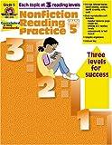 Nonfiction Reading Practice, Grade 5