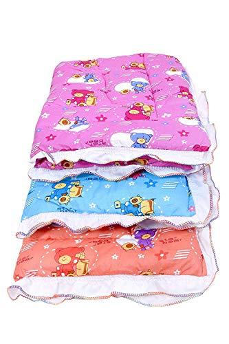 Fareto Newborn Baby Lacy Muslin Godari, Cradle Bed, Baby Bed (Multicolored)(0-6 Months)(Size: L-28 Inchs, B-19 Inchs…