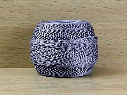 DMC Cotton Perle Thread Size 12 B5200 per 10 gram ball