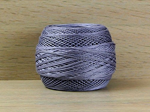DMC Cebelia Scottish Cotton Crochet Thread Size 30 318 - per 50 gram ball by DMC