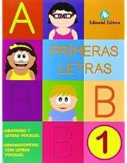 Lectoescritura. Primeras Letras 1