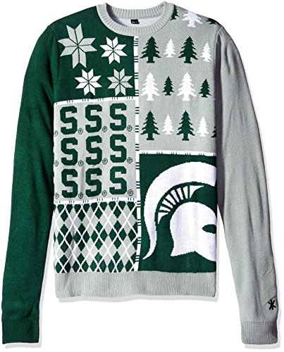 Michigan State Spartans Ugly Sweater Michigan State Christmas Sweater