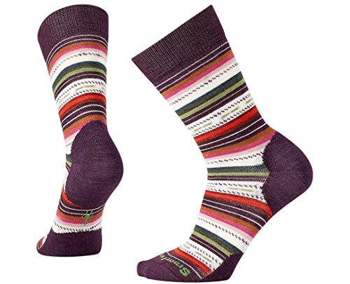 Smartwool Women's Margarita Socks (Bordeaux Heather) Large Smartwool Clothes