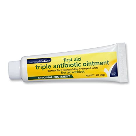GoodSense First Aid Antibiotic Ointment, Triple Antibiotic for Infection  Protection for Burns, Cuts and