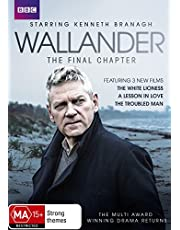 Wallander: The Final Chapter (The White Lioness/A Lesson in Love/The Troubled Man)