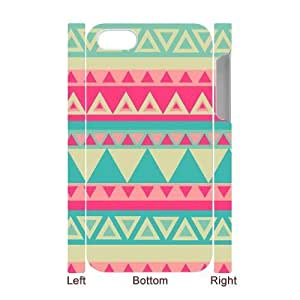 Aztec Tribal Pattern Brand New 3D Cover Case for Iphone 4,4S,diy case cover ygtg538098 by icecream design
