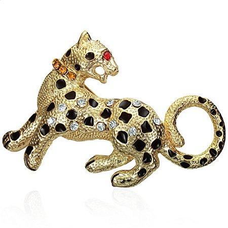 Fashion Alloy Leopard Tiger Zo