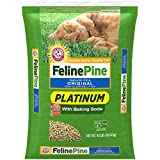 Best Flushable Cat Litters - Feline Pine Platinum Cat Litter, with Baking Soda Review