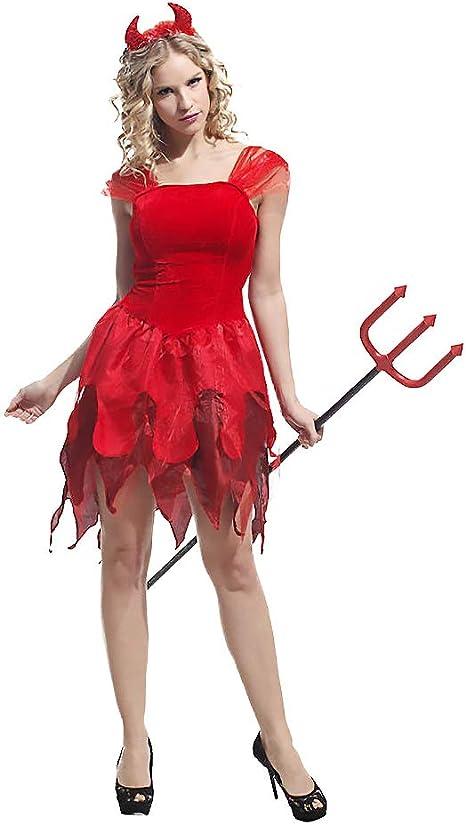BUY-TO Falda de Vampiro de Halloween para Mujer Disfraz de Zombie ...