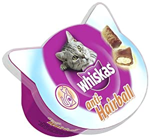 Whiskas Anti Hairball Cat Treats 50 G Pack Of 8 Amazon