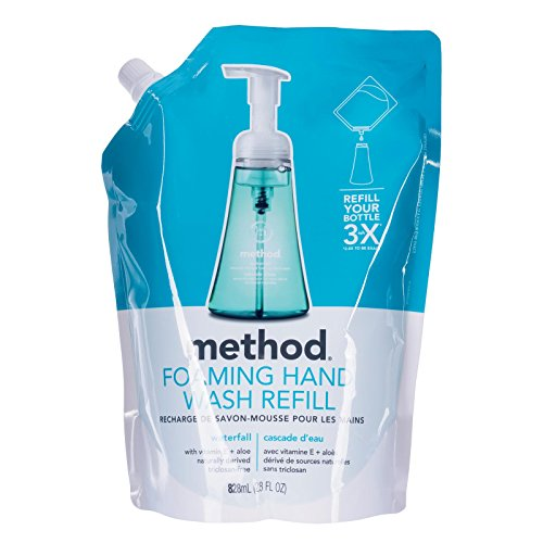 Method Foaming Hand Soap  Refill  Waterfall  28 Ounce