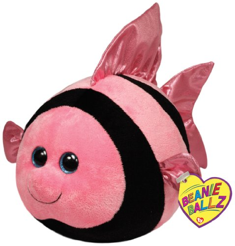 Ty Beanie Ballz Gilly Angelfish Plush, (Angel Fish Animal)