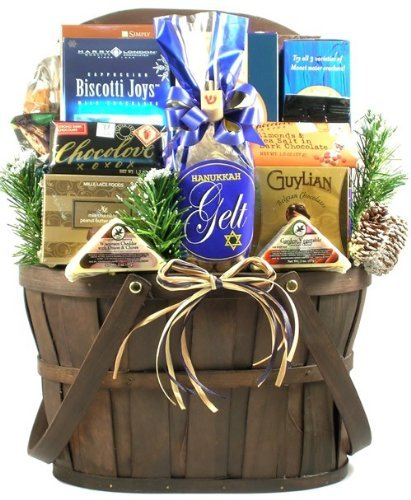 Gift Basket Village A Celebration of Hanukkah Chocolate, 7 Pound