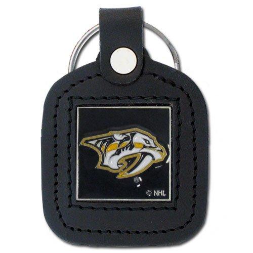 Siskiyou NHL Square Key Chain Nashville Predators, Black