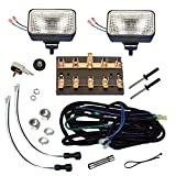 EZGO Golf Cart 750331PKG Universal Headlight Kit