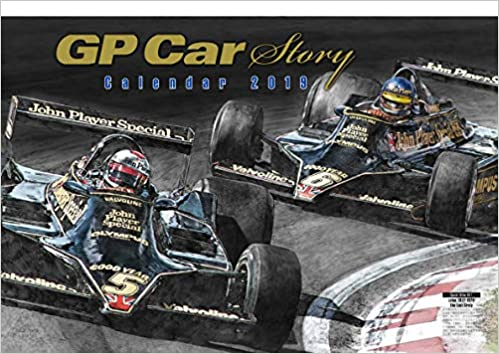 GP Car Story Calendar 2019 [Wall] () : 9784779637063: Amazon