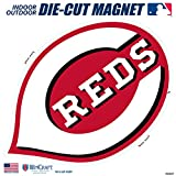 "Stockdale Cincinnati Reds SD 6"" Logo MAGNET Die Cut Vinyl Auto Home Heavy Duty Baseball"