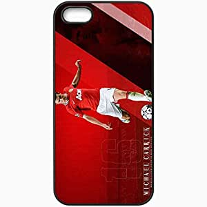 Personalized iPhone 5 5S Cell phone Case/Cover Skin 2013 lovely michael carrick Black