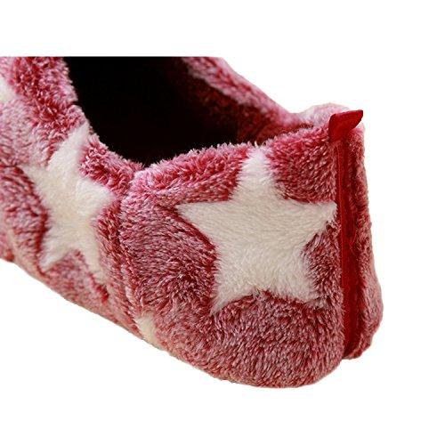 Pantofole Calde Della Casa Delle Pantofole Della Peluche Delle Donne Calde Di Inverno Del Bestfur