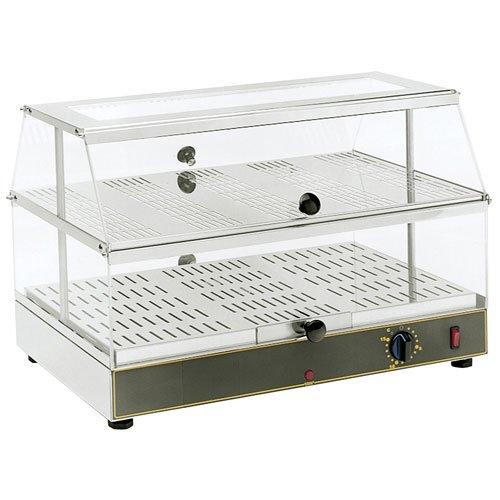 Equipex Gonagain Countertop Warming Display, 24 x 14 x 14 inch -- 1 each.