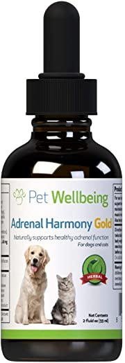 Pet Wellbeing – Adrenal Harmony – Natural Support for Adrenal Dysfunction and Cushing s in Dogs