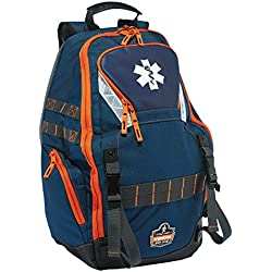 Ergodyne Arsenal 5244 First Responder Medical Supply Backpack Bag for EMS, Police, Firefighters, and others for First Aid Kit, Jump and Trauma Bag Use