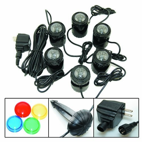 Jebao 12-LED Submersible Light for Water Gardens and Ponds, Set of 6 by Jebao (Image #3)