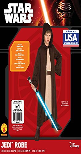 Rubies Star Wars Classic Child's Hooded Jedi Robe, Large - http://coolthings.us