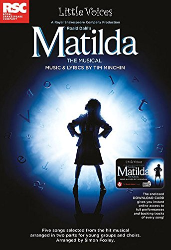 Matilda The Musical: Little Voices Collection Book & Online Audio