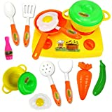 13Pcs Kids Child Kitchen Toy Pretend Role Playing Toy Educational Holiday Gift