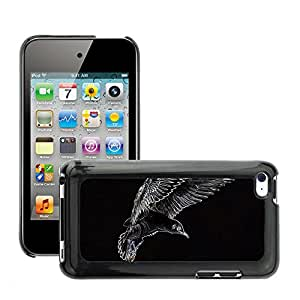 Hot Style Cell Phone PC Hard Case Cover // M00134760 Seagull Bird Fly Seevogel Animal // Apple ipod Touch 4 4G 4th
