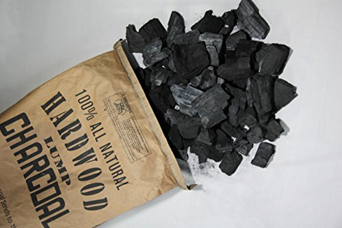 Eco Charcoal Mexican 20 LB Extra Large Super Premium All Natural Hardwood Lump Charcoal