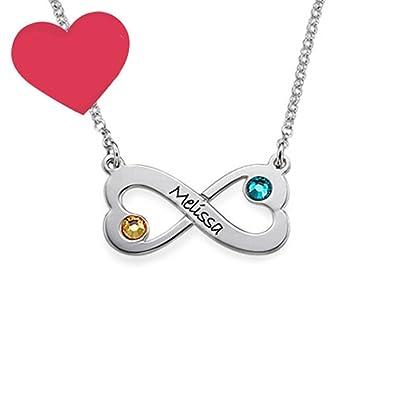 Amazon Kikishopq Two Love Stitching Infinity Symbols Custom One